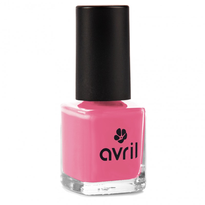 Pink nail polish, vegan and natural Natural Pink Nail Polish