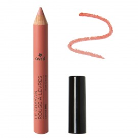 Lipstick pencil Rose Délicat  Certified organic
