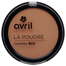 Compact powder Cuivré   Certified organic