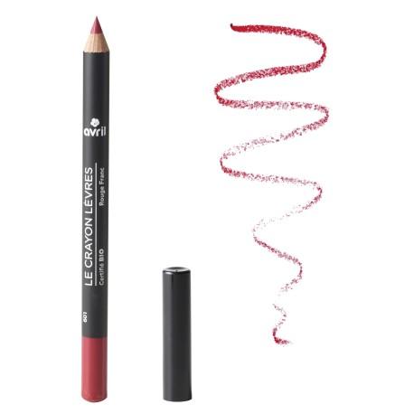 Organic lip pencil Rouge Franc