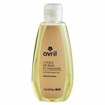 Organic bath and massage oil