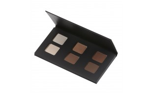 Eye shadow palette Nude  Certified organic