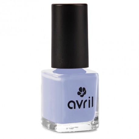 Nail polish light blue Bleu Layette