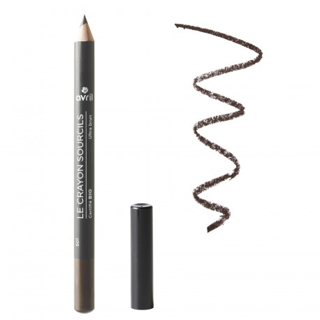 Organic eyebrow pencil Ultra Brun