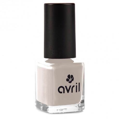Nail polish light grey Galet