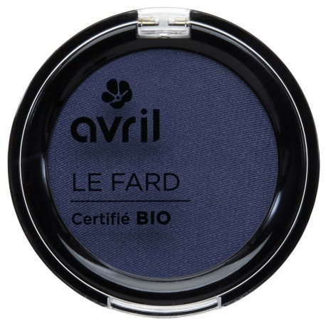 Organic eye shadow Bleu de minuit mat