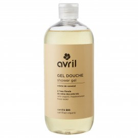 Organic shower gel Vanille