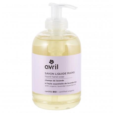 Organic liquid hand soap Champs de Lavande
