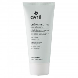 Neutral cream  200 ml - Certified organic