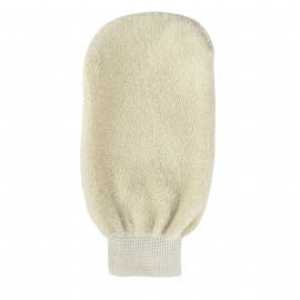 Organic cotton cleansing glove