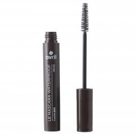 Organic brown waterproof mascara