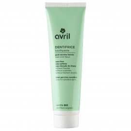 Toothpaste with mint  75 ml - Certified organic