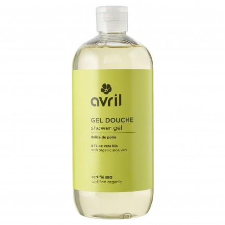 Organic shower gel Délice de poire