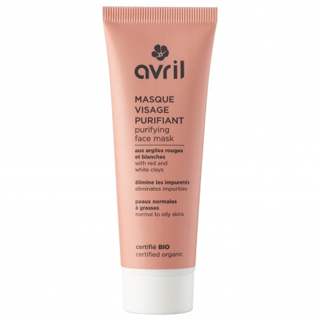 Organic purifying face mask