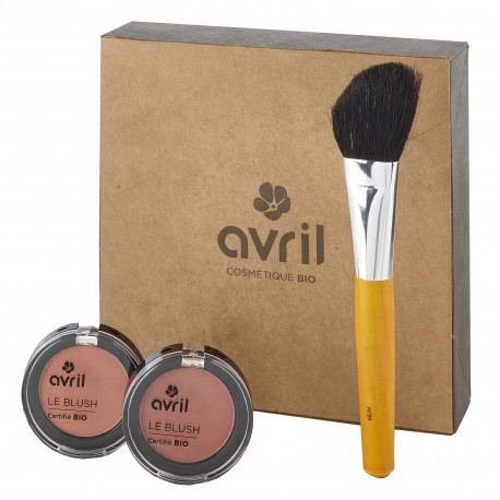 Gift box Avoir le rose aux joues  - Cosmetics certified organic