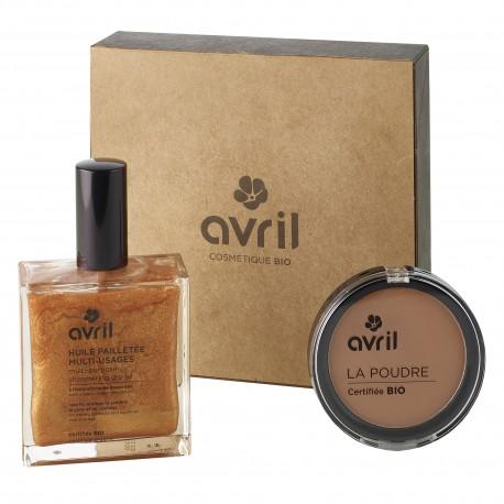 Gift box Briller en société - Cosmetics certified organic