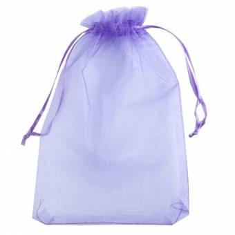 Bag in organic cotton 11 x 14 cm