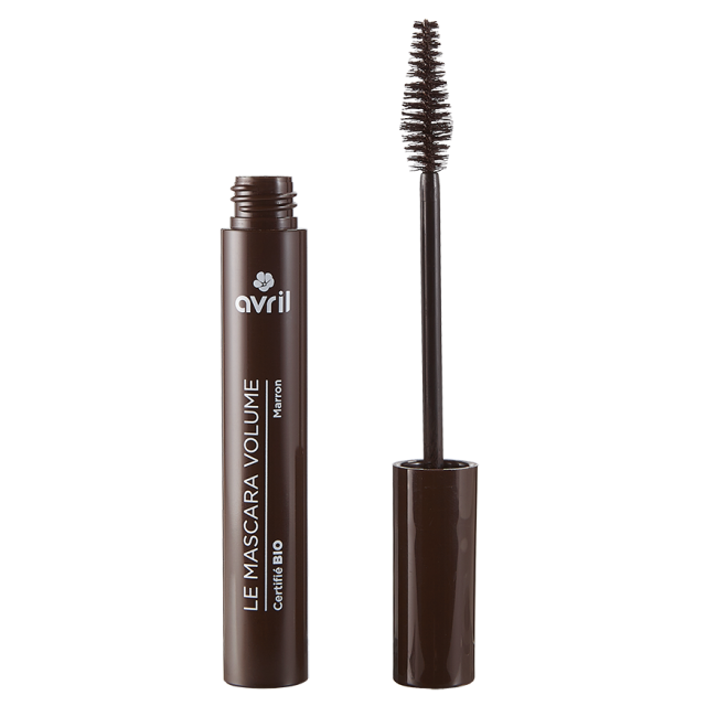 Mascara Volume Marron  Certified organic