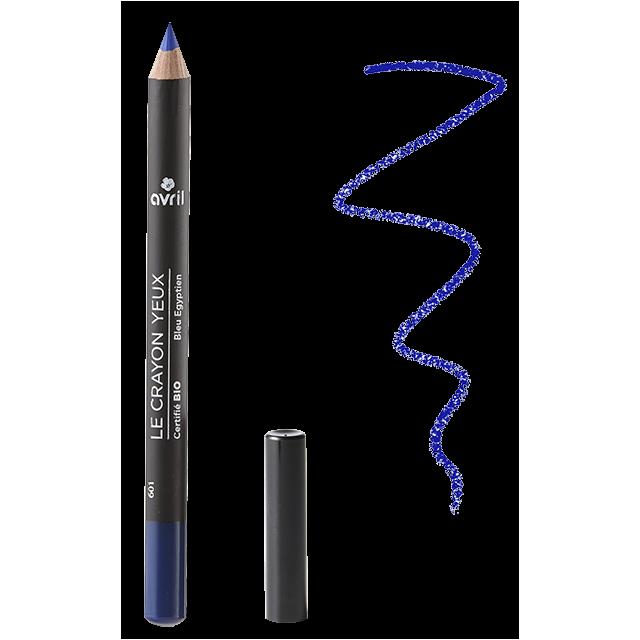 Organic blue eye pencil Bleu Égyptien