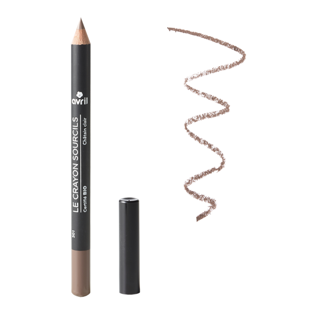 Eyebrow pencil Brun  Certified organic
