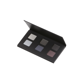 Organic eye shadows smoky palette