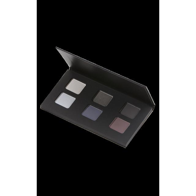 Organic eye shadows smoky palette