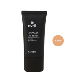 Foundation Sable  30ml - Certified organic