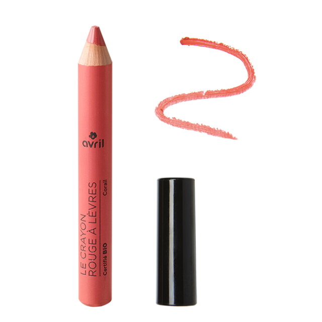 Lipstick pencil Corail  Certified organic