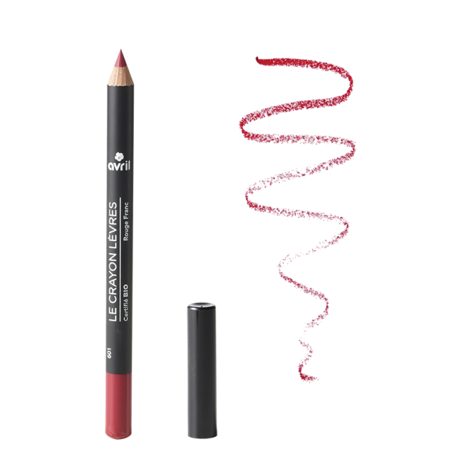 Organic lip pencil Rouge Franc