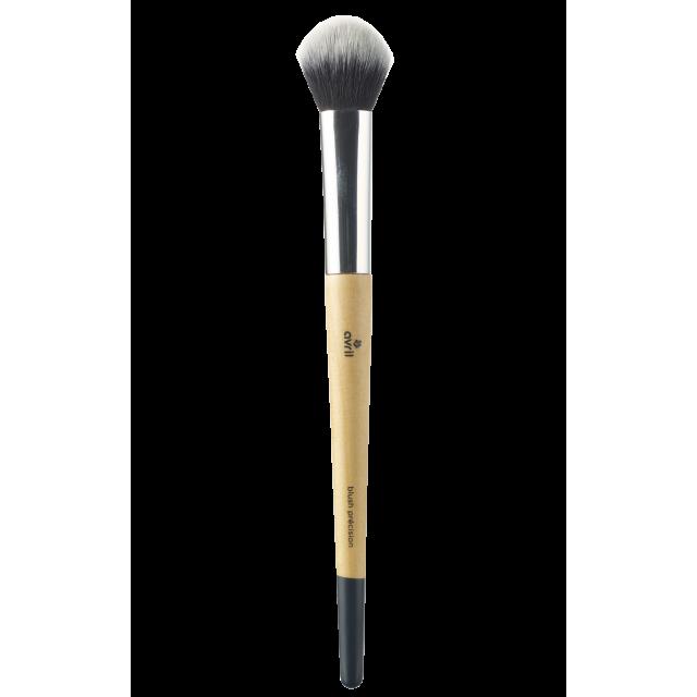 Precision blush brush