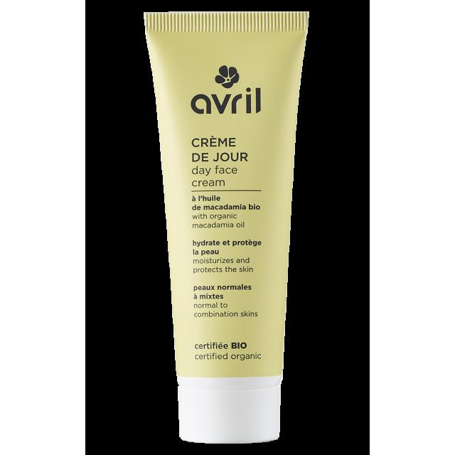 Crème de jour peaux normales et mixtes  - 50 ml certifié bio