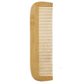 Wooden comb  Tight teeth