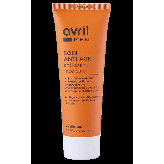 Anti-aging skincare Men  50 ml - Certified organic