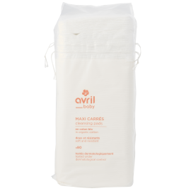 Cleaning pads in organic cotton