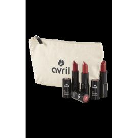 Gift set Plein de bisous  - Cosmetics certified organic