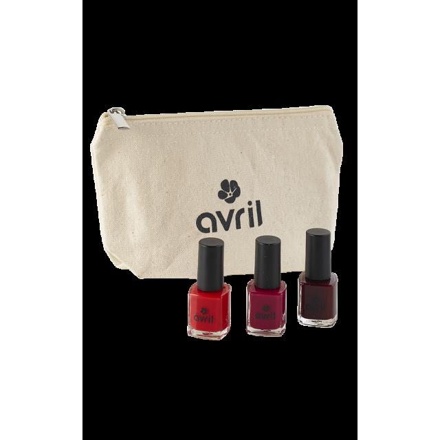 Gift set Je suis vernie  - Cosmetics certified organic