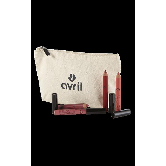 Gift set Mes crayons de couleur - Cosmetics certified organic