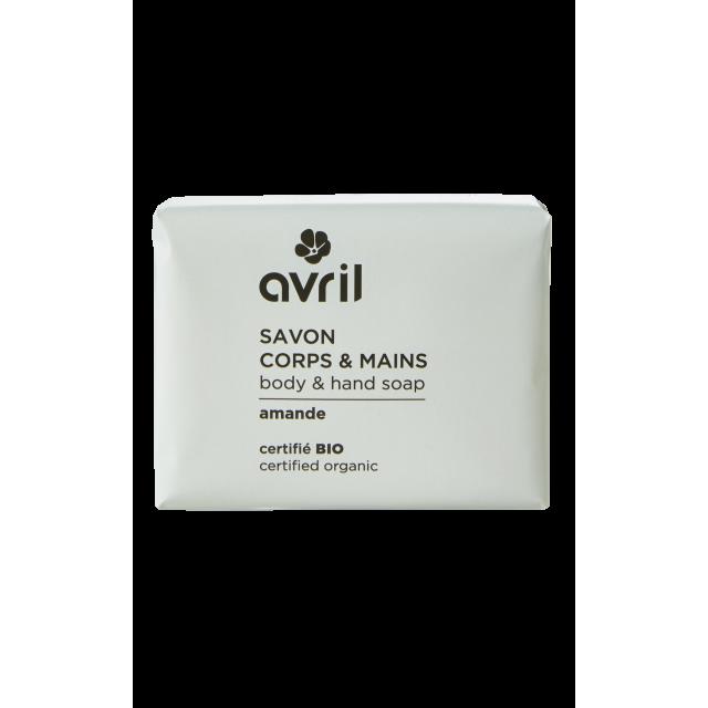 Body & hand soap Amande  100g - Certified organic