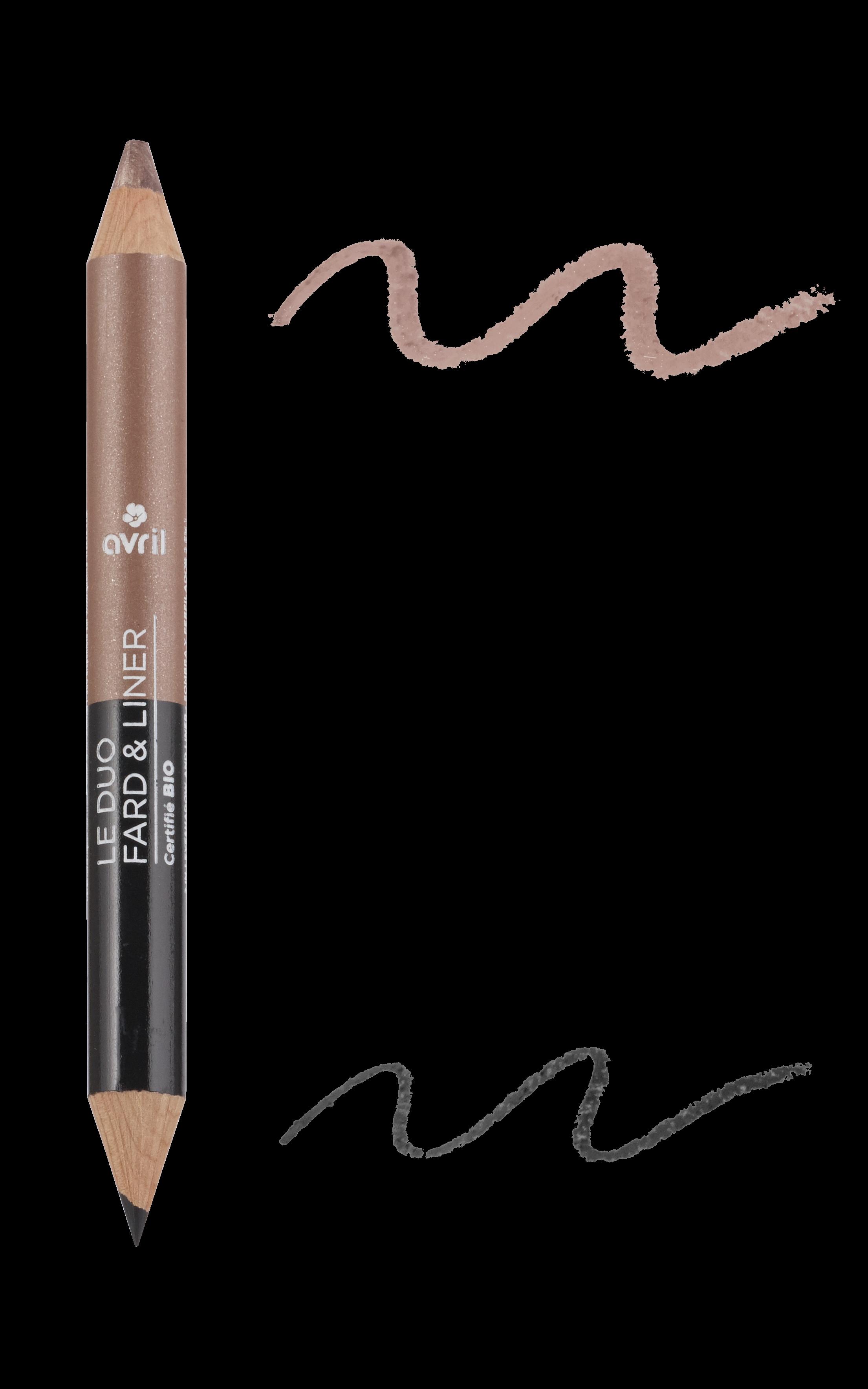 Duo jumbo eye pencil black organic