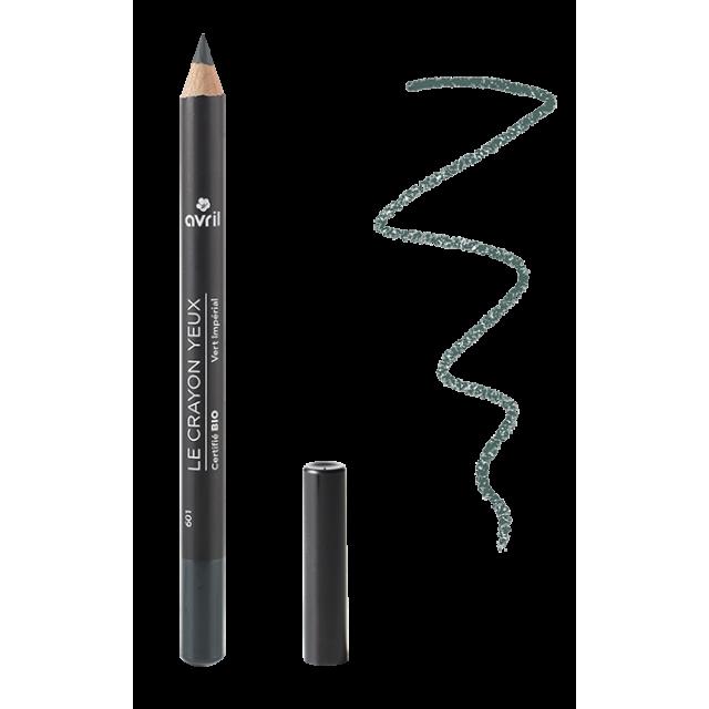 Organic eye pencil green Vert Impérial