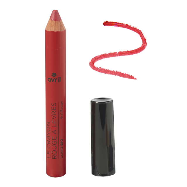 Organic lipstick pencil Vrai Rouge