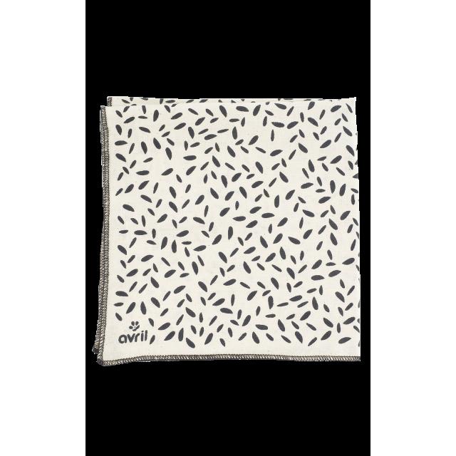 Furoshiki Pétales 32 x 32 cm  Organic cotton