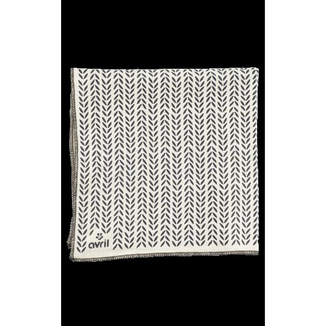 Furoshiki Feuillage 32 x 32 cm  Organic cotton