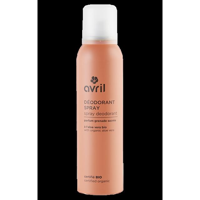 Spray deodorant  150 ml – Certified organic
