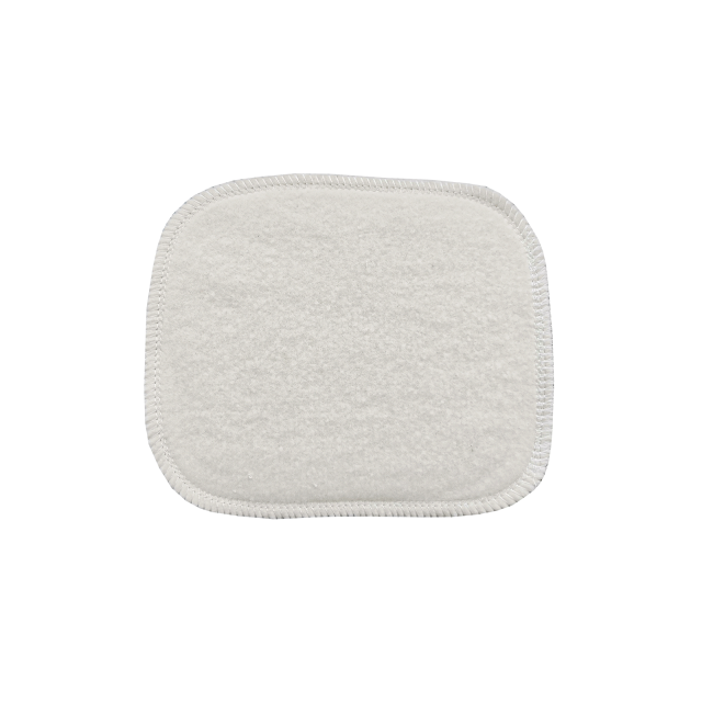Washable cleansing pad  In organic cotton