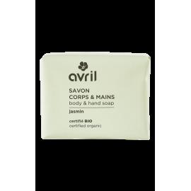 Body & hand soap Jasmin  100g - Certified organic