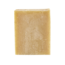Face cold process soap Exfoliating  100g - Certified organic