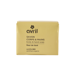 Body & hand soap Fleur de Tiaré  100g - Certified organic