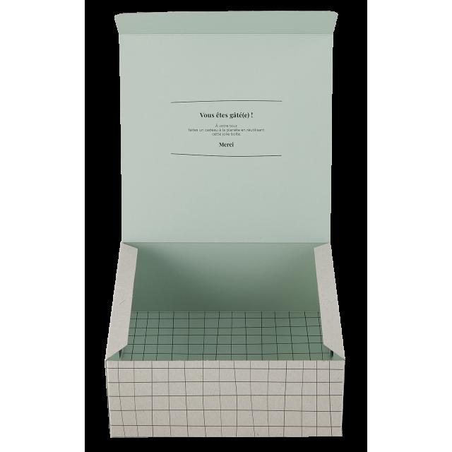 Gift box Carreaux Vert