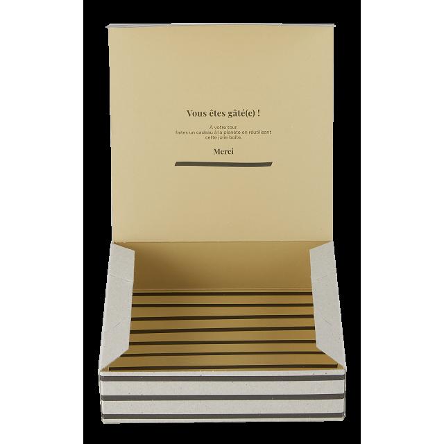 Small gift box Zèbre Curry
